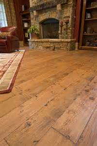 Unfinished Yellow Pine Flooring Smoky Mountain Wood