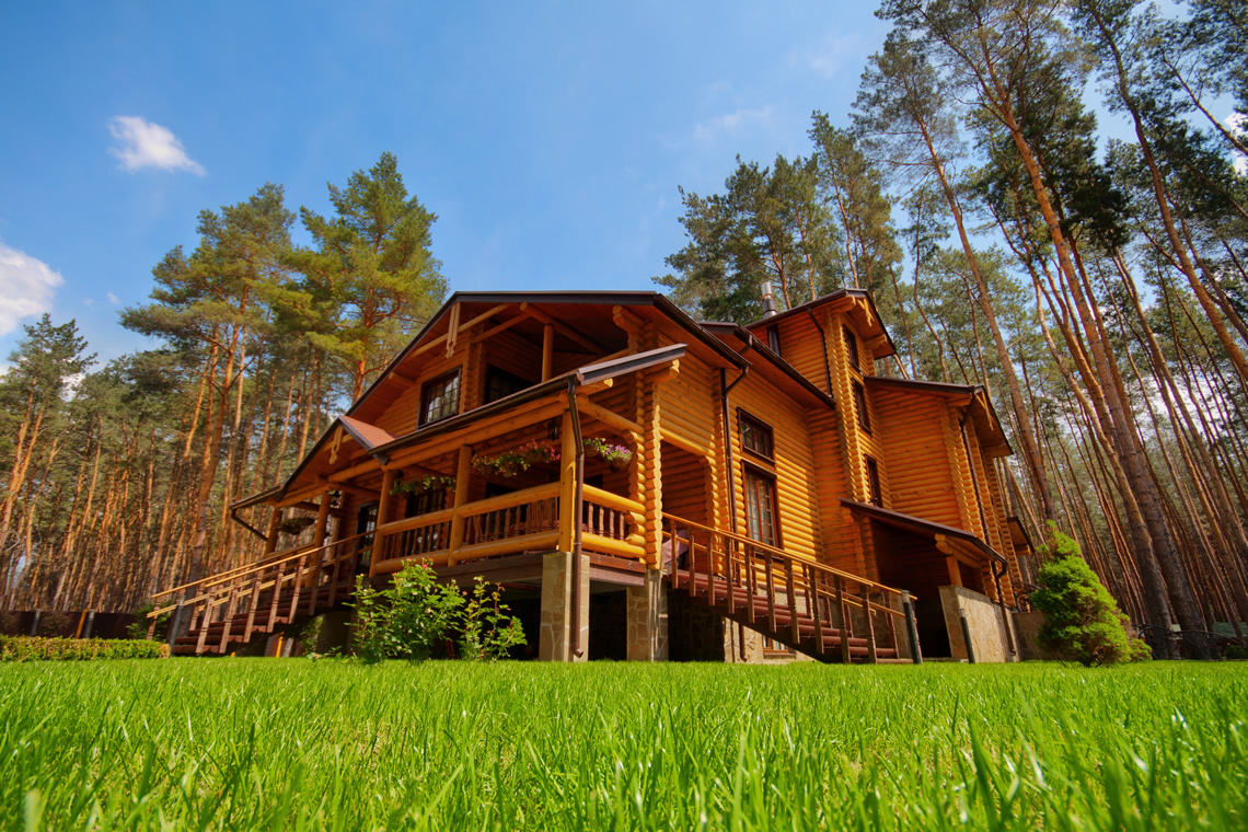 Smoky mountain wood products our products add character for Wood cabin homes
