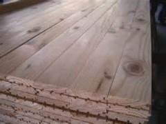 Unfinished Yellow Pine Flooring Smoky Mountain Wood